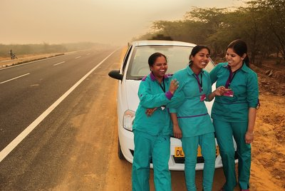 Women on Wheels, India