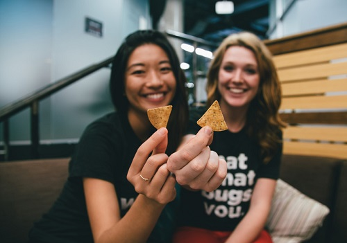 Eating Sustainably: We talk cricket chips with Laura D'Asaro of Chirps Chips