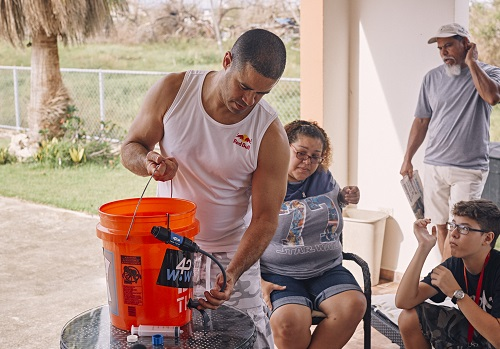 Crazy Legs and Waves for Water Team Up Against Hurricane Maria in Puerto Rico
