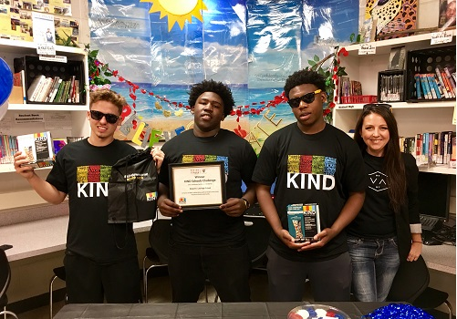 Students Win National Kindness Challenge