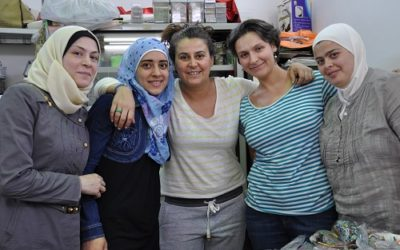 Empowering Syria's Internally Displaced Refugee Women