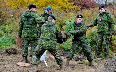 Tree Planting Campaign Honours Canada's Fallen Heroes