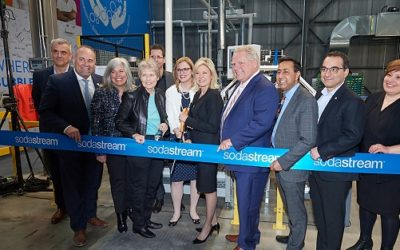 SodaStream Canada Takes Another Step in its Fight vs Plastic