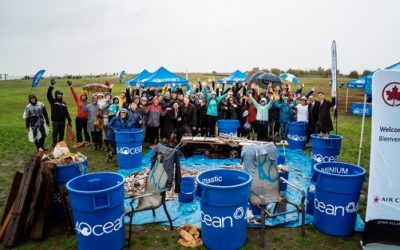 Air Canada Partners with 4Ocean to Advance Plastic Reduction Strategy