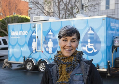 Delivering Showers & Dignity to the Homeless: Doniece Sandoval of Lava Mae
