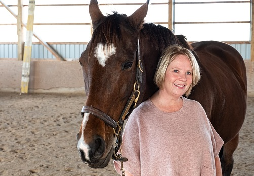 This Social Entrepreneur Uses Horses to Help People Cope with Grief and Loss